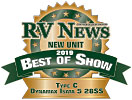 RV News New Unit 2019 Best of Show - Isata 5 28SS